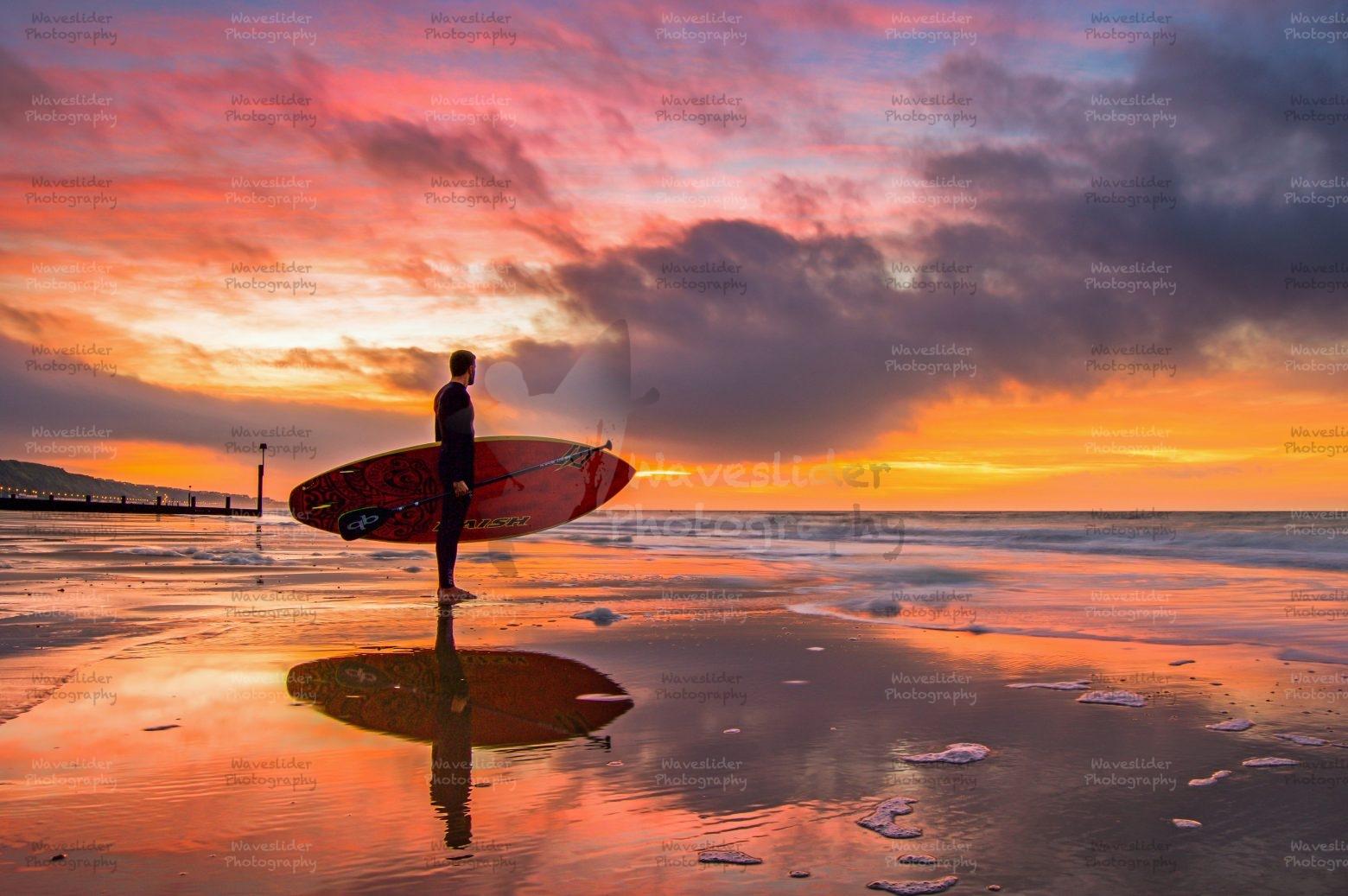 Boscombe Pier Sunrise – Waveslider Photography